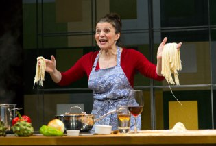 Antoinette LaVecchia, 2014, I loved, I lost, I Made Spaghetti_ George St. Playhouse. Photo by T. Charles Erickson