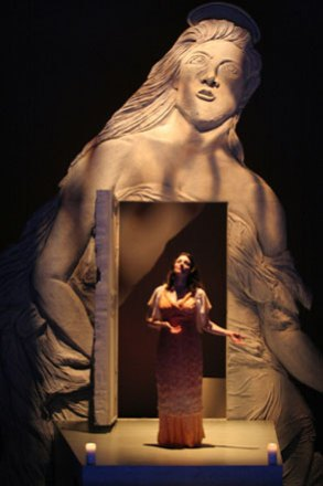 as St. Agatha in TOUGH TITTY at Williamstown Theatre Festival, directed by Charles Randolph-Wright