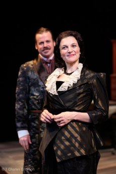 as Ariadne with Bradford Cover in HEARTBREAK HOUSE at Two River Theater Company, directed by Aaron Posner
