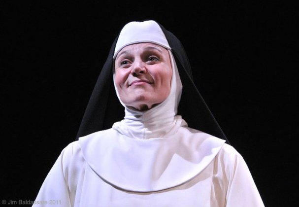as Mother Augustina in A WORLD APART at the Flea Theater, directed by Jean Randich