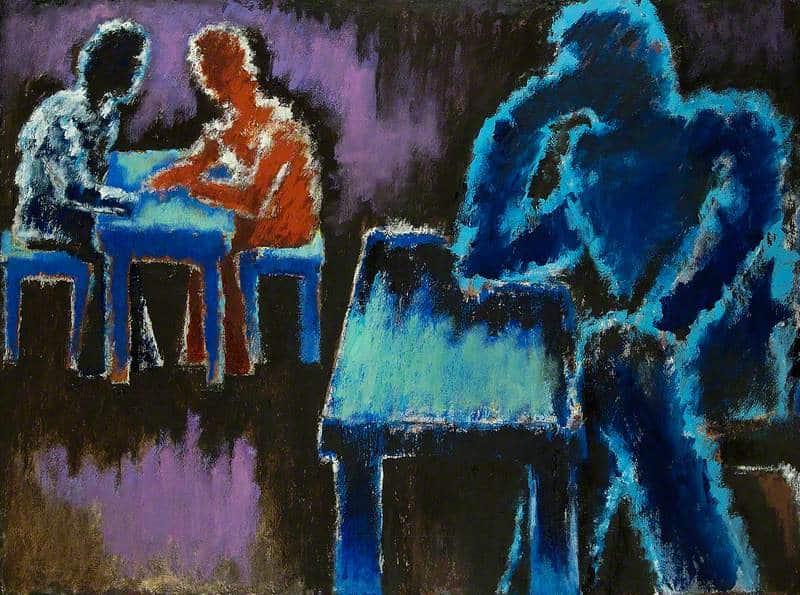 Photo of رجال حول المائدة لـ جوزيف هيرمان