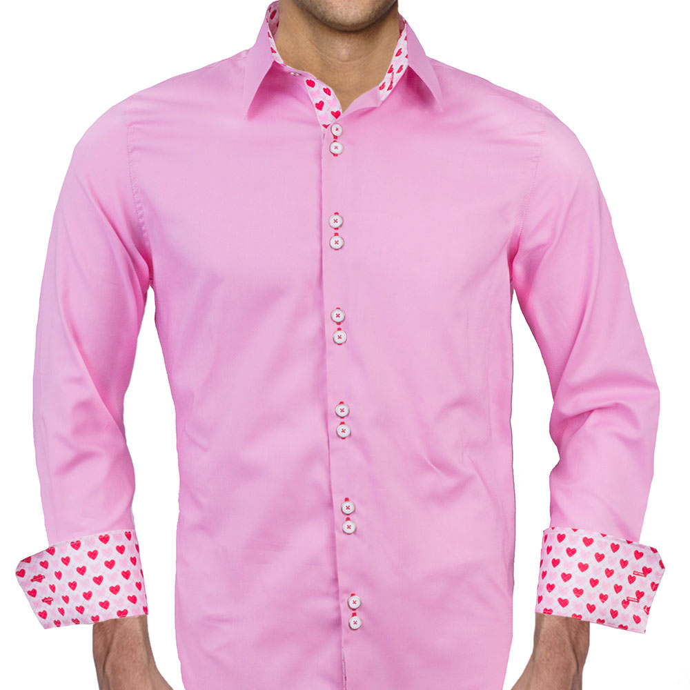 15 Latest Designs Of Pink Shirts For Men And Women