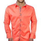 Coral Men's Dress Shirt