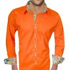 Bright Orange Dress Shirt