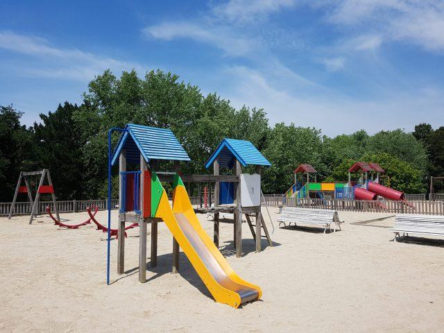 Parques infantiles en Santiago. Parque Eugenio Granell