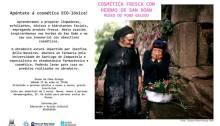 Cosmética fresca con herbas de San Xoán. Museo do Pobo Galego