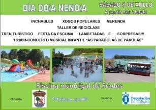 Día do Neno en Frades. Qué hacer en verano con niños