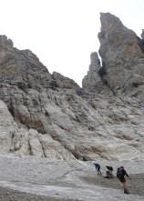 Final PItch of Sentieo Brentari onto glacier.