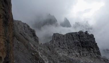 Weather closing in on Sent. Castiglioni