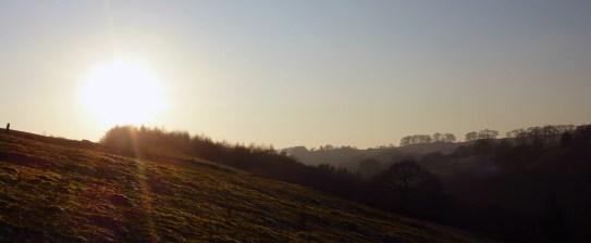 Dane Valley Sunset
