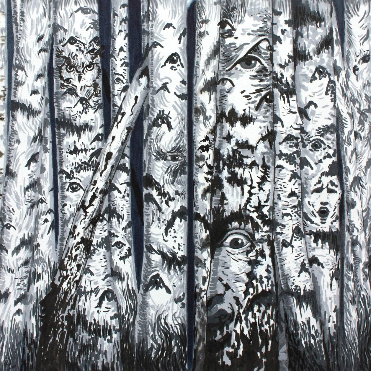 Haunted Birch Forest