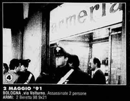 L'armeria di via Volturno - Archivio La Stampa