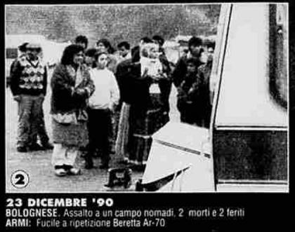 L'assalto al campo rom di via Gobetti - Archivio La Stampa