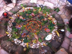 mandala from the top