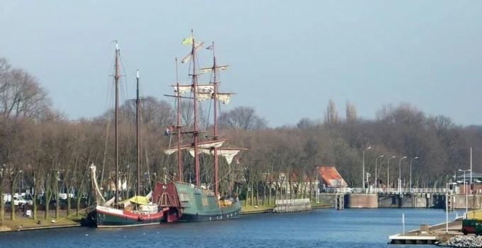 Voorhaven Noordhollandschkanaal. Amsterdam