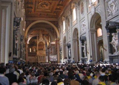 Zakończenie procesu beatyfikacyjnego i kanonizacyjnego w bazylice św. Jana na Lateranie