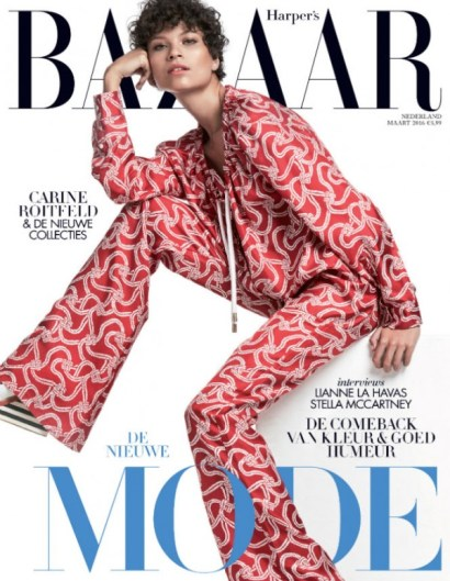 """Harper's Bazaar Art, for the exhibition """"Catwalk"""" at the Rijksmuseum. March issue, 2016."""