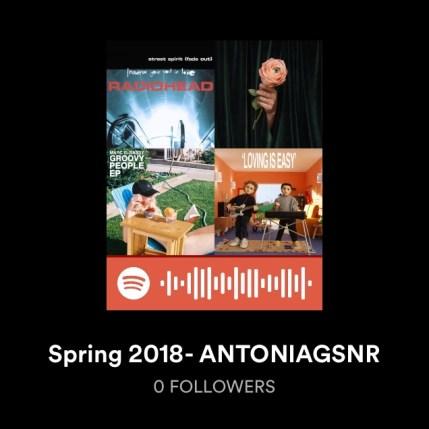 spotify spring 2018