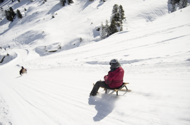 Mountain Winter Sport in Switzerland