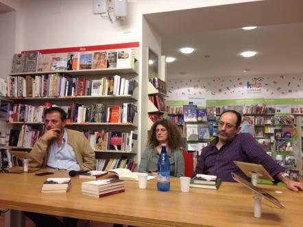 Da sx: Simone Lenzi, Cristina Guarducci, Antonio Celano