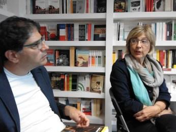 Da sx: Paolo Mastroianni e Carla Benedetti.