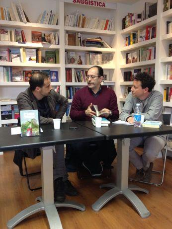 Da sx: David Marsili, Antonio Celano, Tiziano Rosselli.