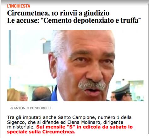 CIRCUMETNEA SANTO CAMPIONE antonio condorelli