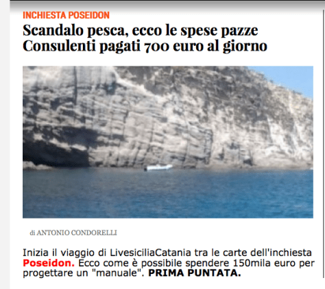 fondi pesca scandalo antonio condorelli
