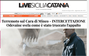 CARA DI MINEO LUCA ODEVAINE