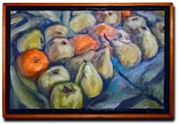 """""""Reflections"""" 7.5"""" x 12"""" oil on panel, © Antonio Dias"""