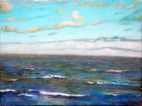"""Rolling"" 18"" x 24"" oil on canvas © Antonio Dias"