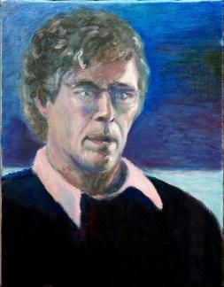 Self-portrait,-Pink-collar