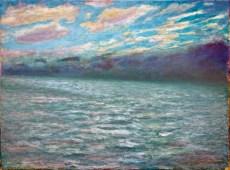 """""""Sound"""" 18"""" x 24"""" oil on canvas © Antonio Dias"""