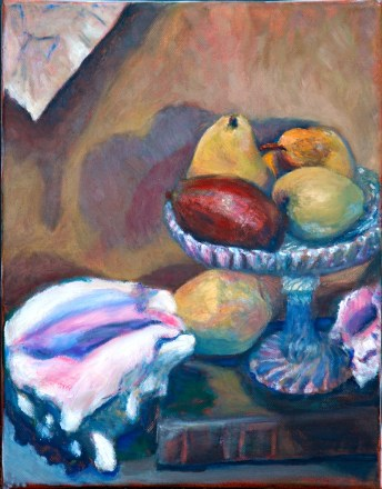 Still Life, Letters to Theo, Conch, & Pears