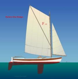 Factory One Sail Plan Illust