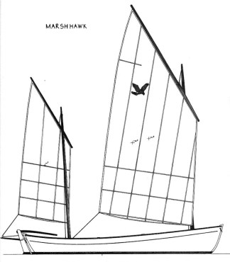 Marsh Hawk, Ketch Rig