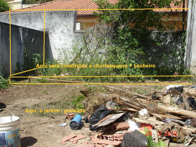 Planos pro jardim da área de lazer (2/4)