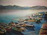 Barcas de pesca, 70x50, 100€