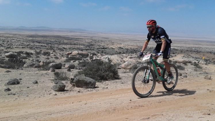 Antonio Gassó en la Épica GAES Atacama, que tuvo lugar a principios de este mes de septiembre en el desierto de Atacama, en Chile