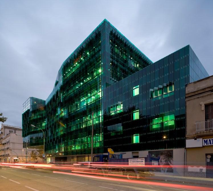 Sede de GAES, en la calle Pere IV 160 de Barcelona. Foto: @pegenaute