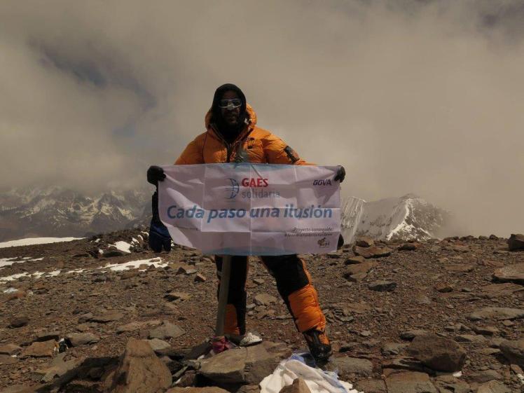 Antonio Gassó Aconcagua alpinismo GAES