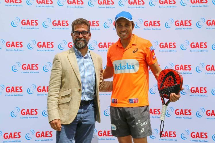 GAES patrocina a Fernando Belasteguín, número 1 mundial de padel