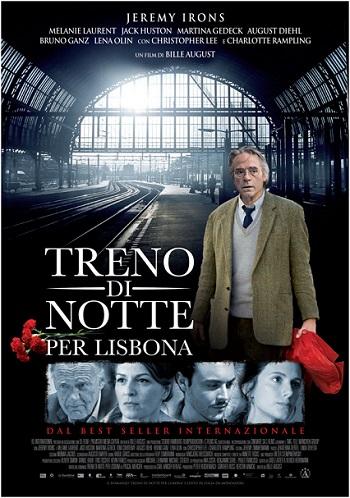 La locandina del fil Treno di notte per Lisbona