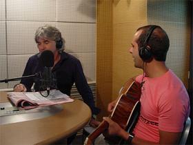 Checco Zalone (a destra) con Ivan Zazzaroni