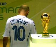 Zidane esce di scena