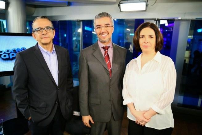 Antonio Lavareda e Mônica Bergamo entrevistam Jorge Felix