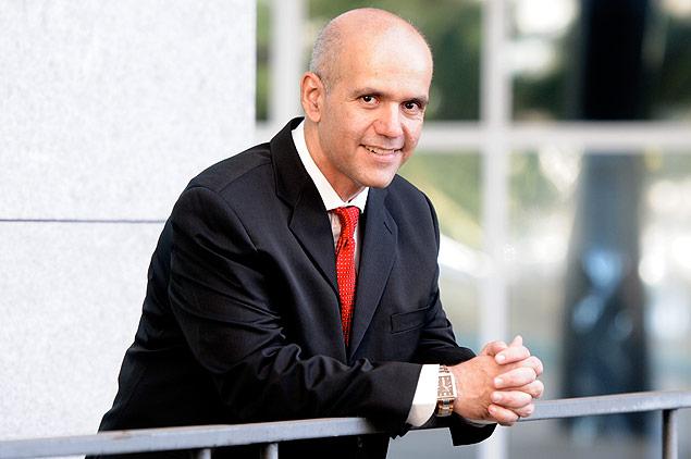 Marcelo Caetano participa do programa Ponto a Ponto / Reprodução: Folha de São Paulo