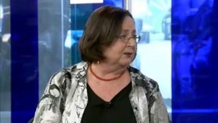 Vera Chaia no programa Ponto a Ponto / Reprodução: Band News TV