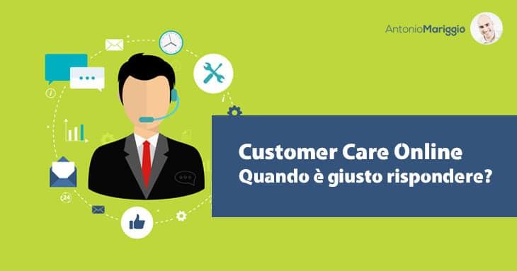Customer Care Online - Rispondere alle domande