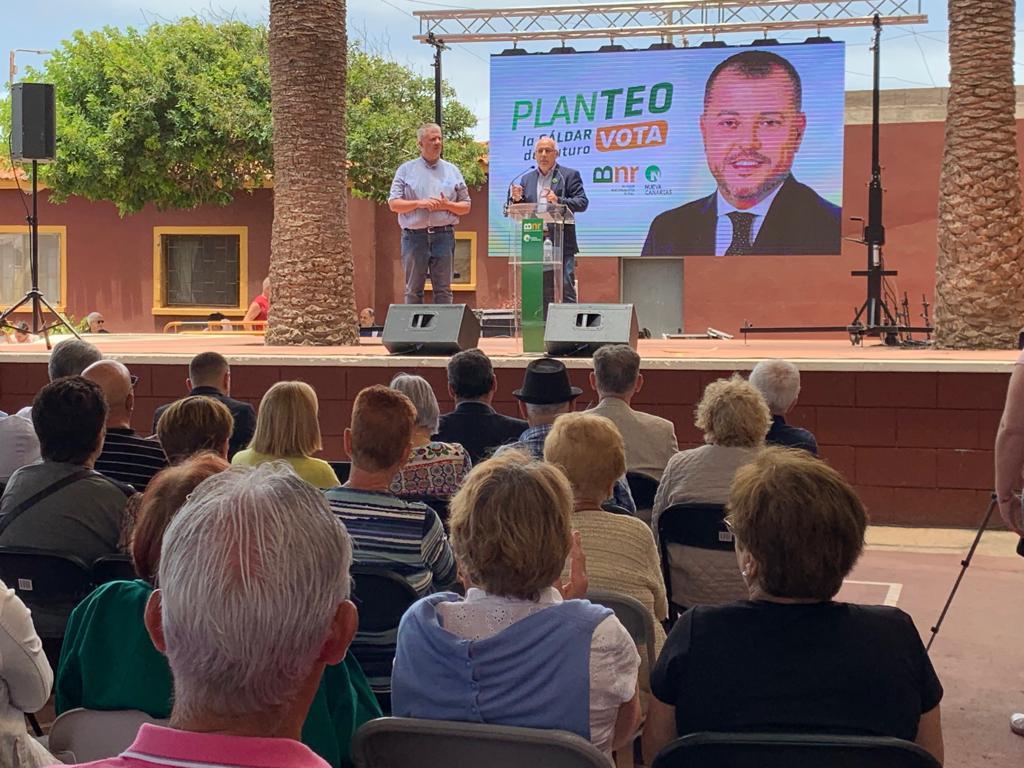 Morales anuncia que el norte de Gran Canaria contará con 140 nuevas camas para personas mayores y dependientes